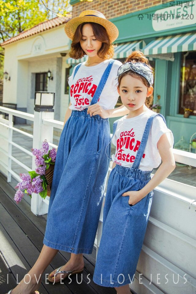 [2nd Restock] Denim Dungaree