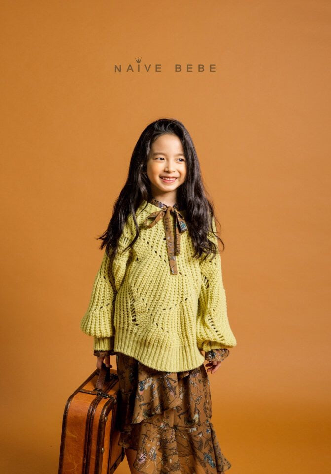 Hello Autumn Dress Brown Girl