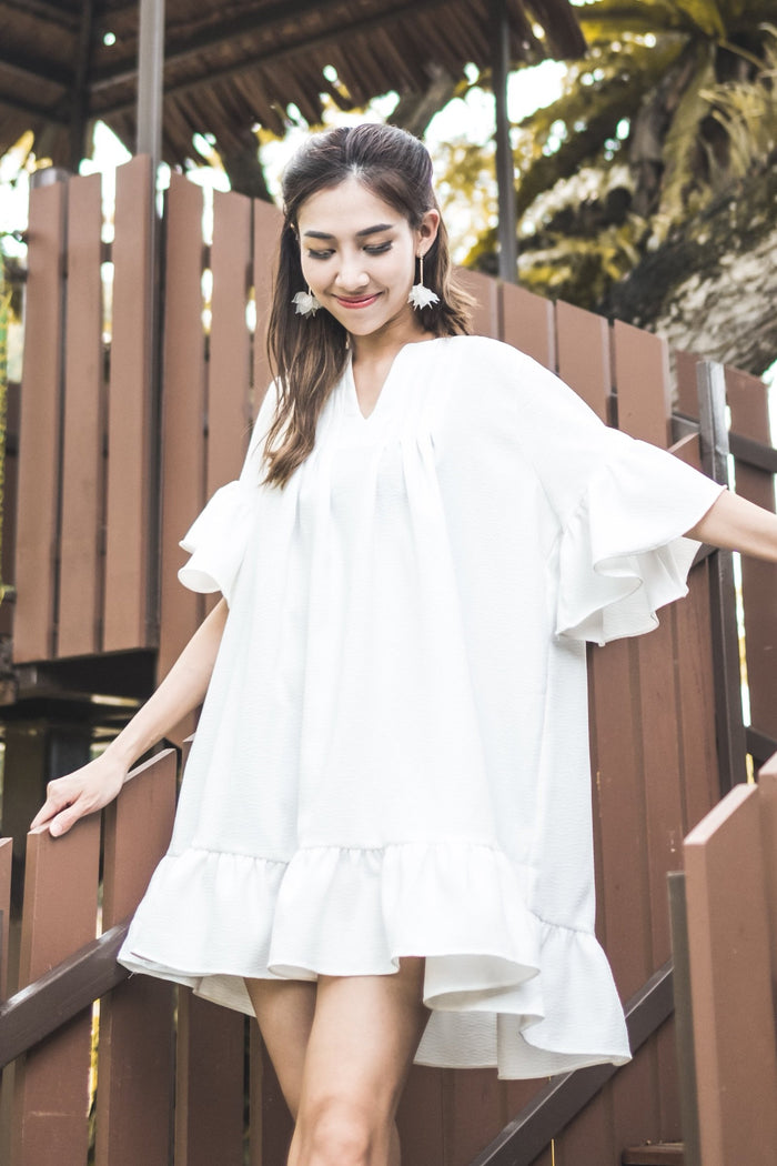 [8th Restock] Tunic Top White