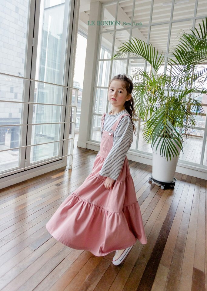 Loopy Overall Pink Skirt [Woman/ Girl]