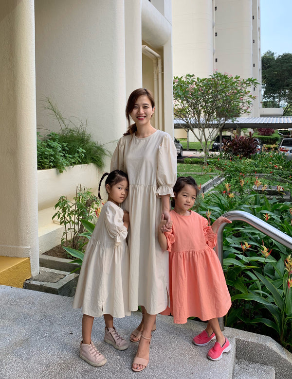 Twinning Sweet Dress Beige (Woman/girl)
