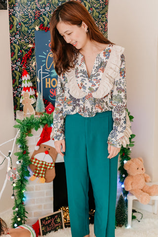 [PREORDER] Chic Pants Teal