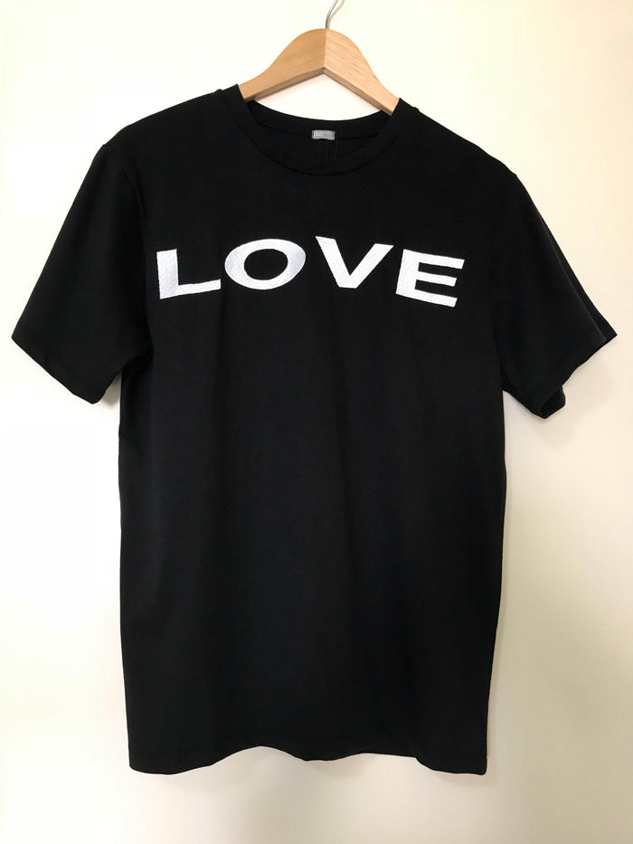 LOVE T-shirt [Red font/ white font]