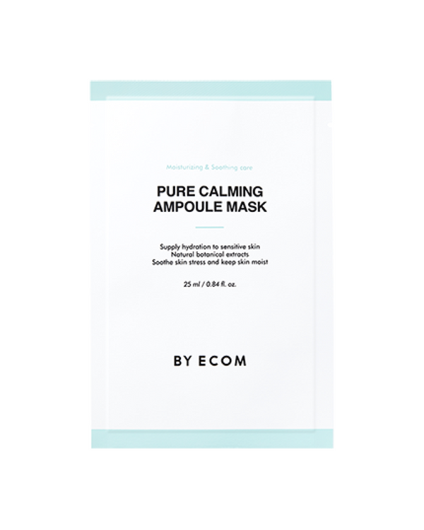 BY ECOM Pure Calming Ampoule Mask (7 Sheets)