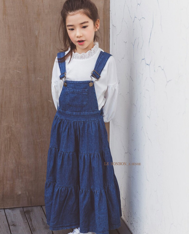 [2nd RESTOCK] Overall Denim Skirt