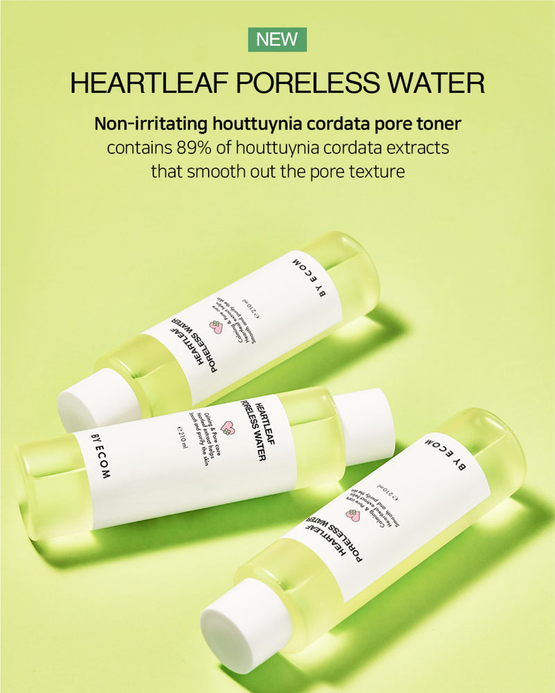 BY ECOM Heartleaf Poreless Water