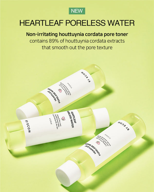 [PROMO] BY ECOM Heartleaf Poreless Water