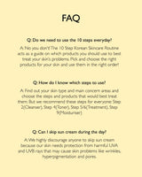 Korean 10 Step Skincare Kit