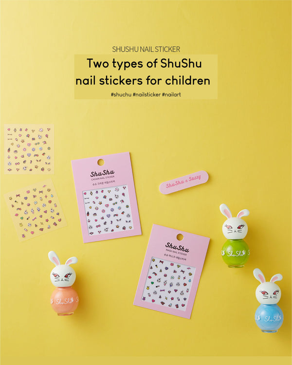 [PROMO] ShuShu Kids Nail Sticker