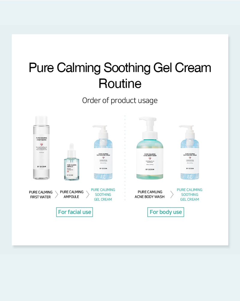 BY ECOM Soothing Gel Cream