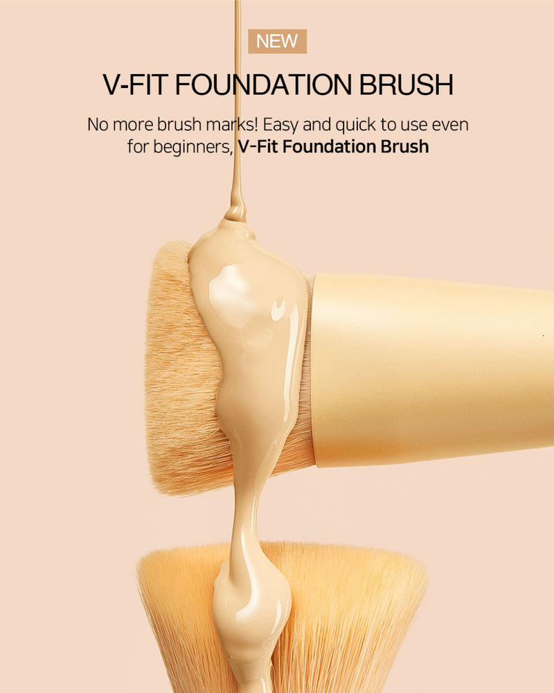 BY ECOM V-Fit Brush