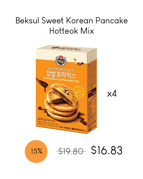 Beksul Sweet Korean Pancake Hotteok Mix
