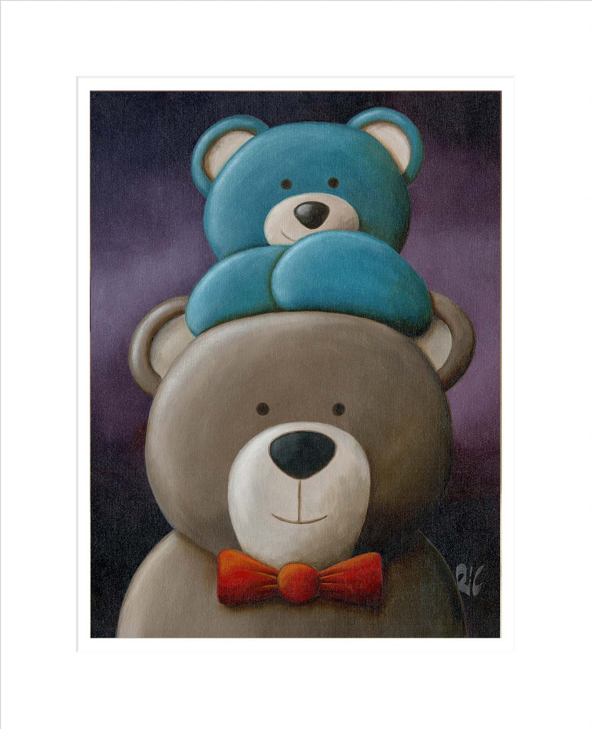 Bear-ly noticeable - Limited Edition Print