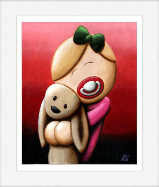 Cuddle Bunny - Limited Edition Print