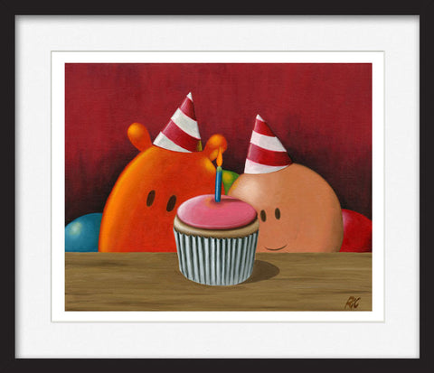 Birthday Party - Framed Limited Edition Print