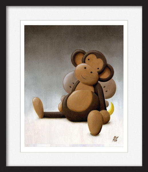 Cheeky Monkeys - Framed Limited Edition Print