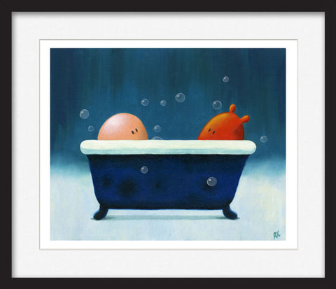 Good clean fun - Framed Limited Edition Print