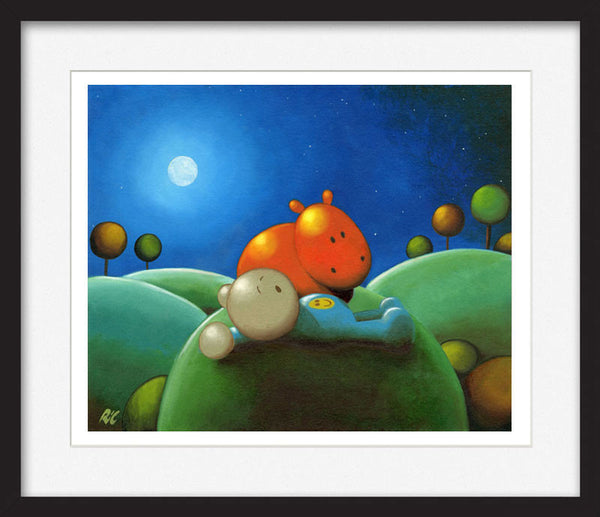 Under the Stars - Framed Limited Edition Print
