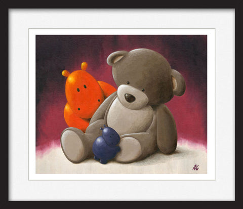 Who are you? - Framed Limited Edition Print
