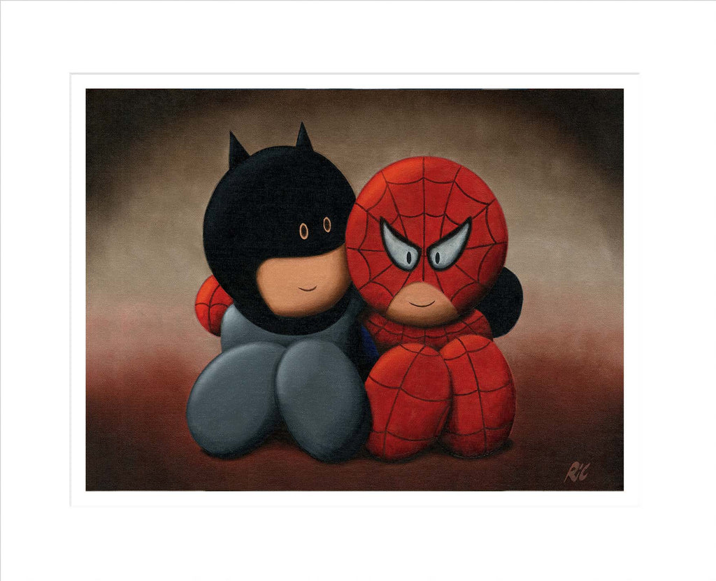 The cute crime fighters - Limited Edition Print