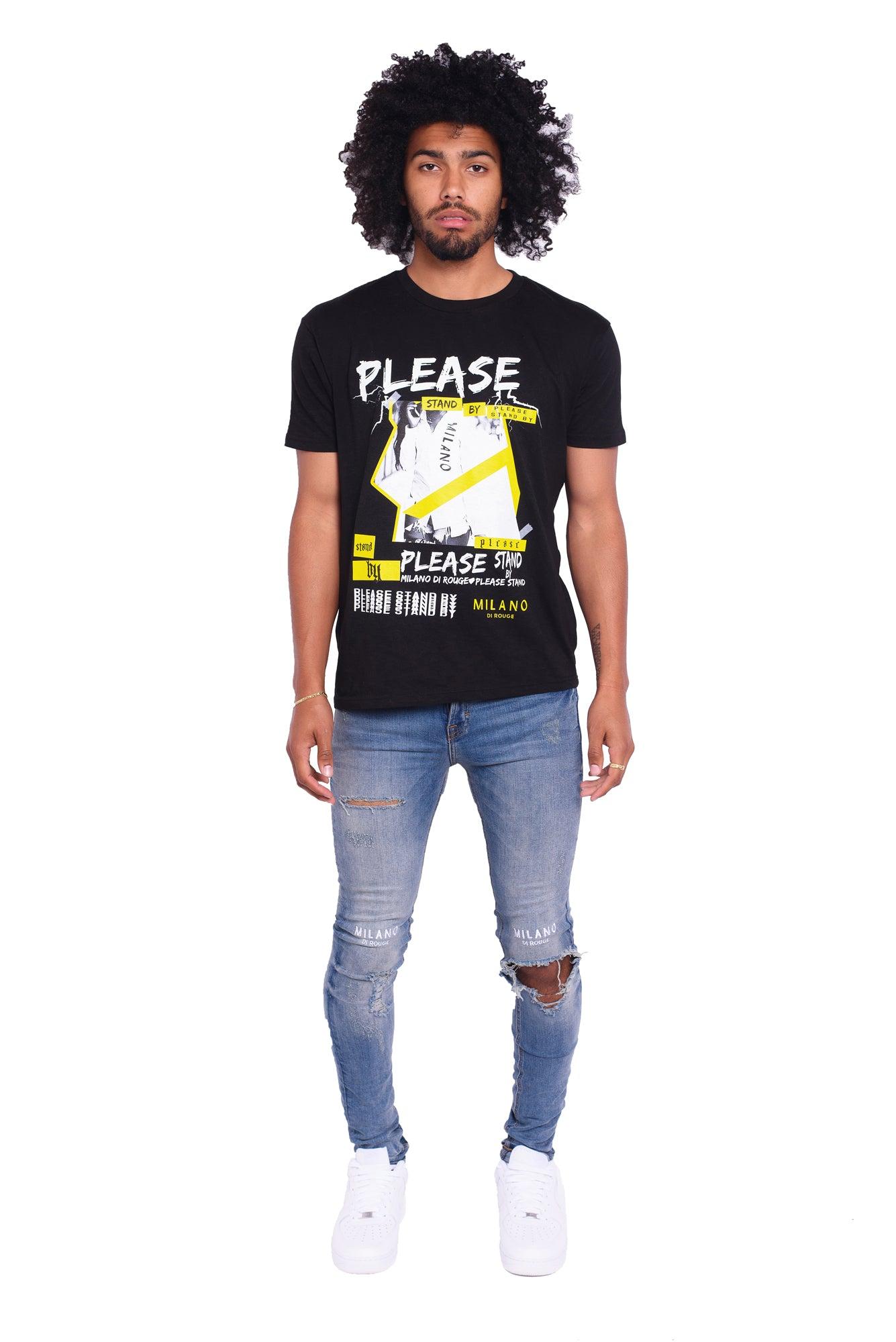 Please Stand by Logo Tee