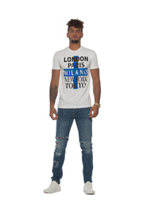 Men`s 5 Cities Tee