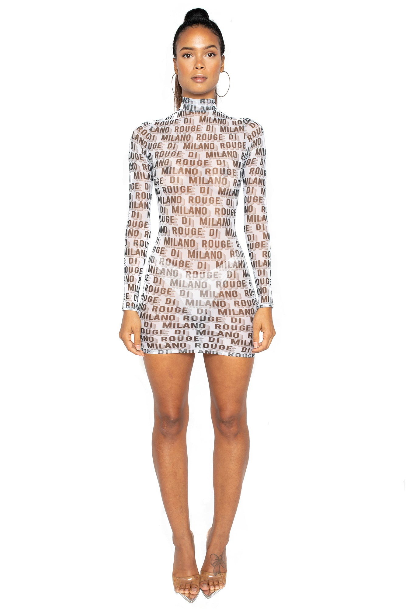 Kylie Mesh Dress