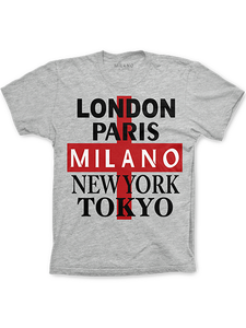 Mens 5 Cities Tee