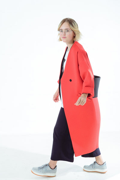 JAPANESE STYLE STRAWBERRY COAT - ONE SIZE