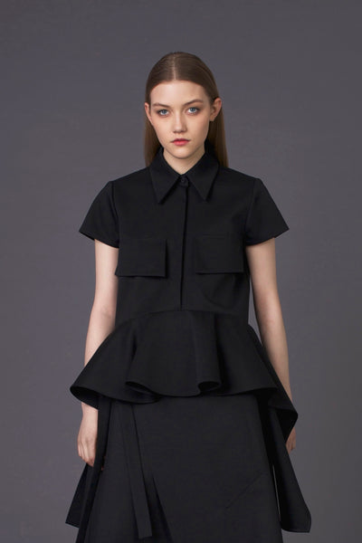 Elegant Exclusive Black Shirt
