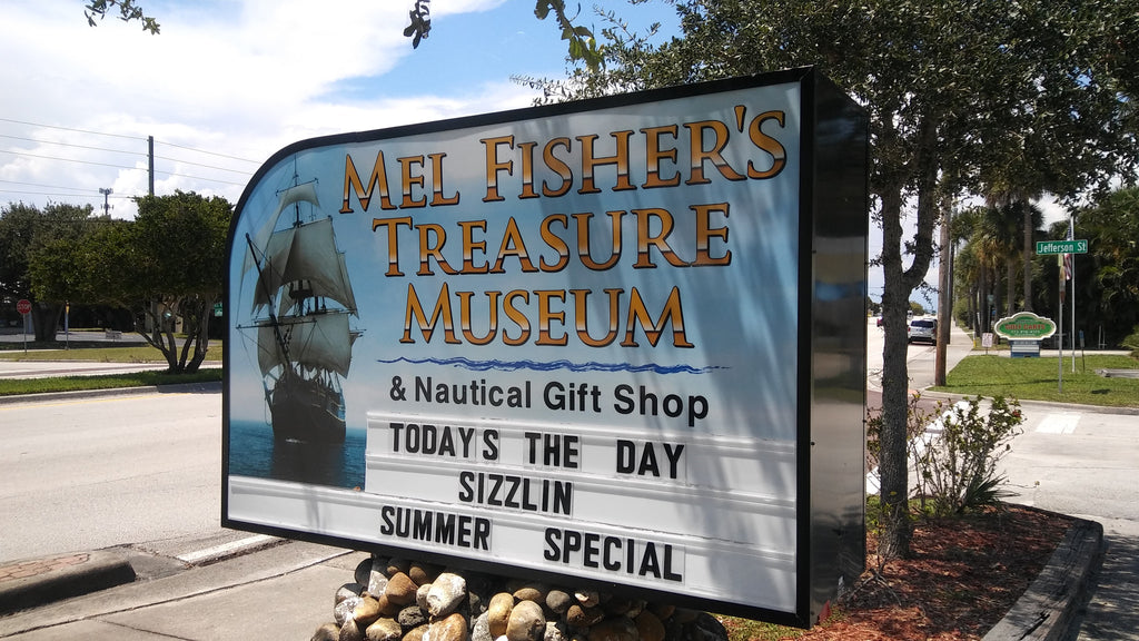 Visiting Mel Fisher's Treasure Museum