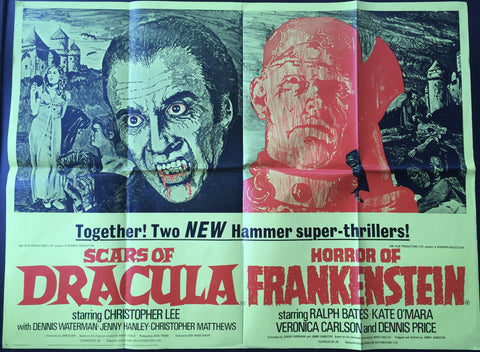 Scars of Dracula / Horror of Frankenstein