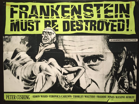 Frankenstein Must Be Destroyed!