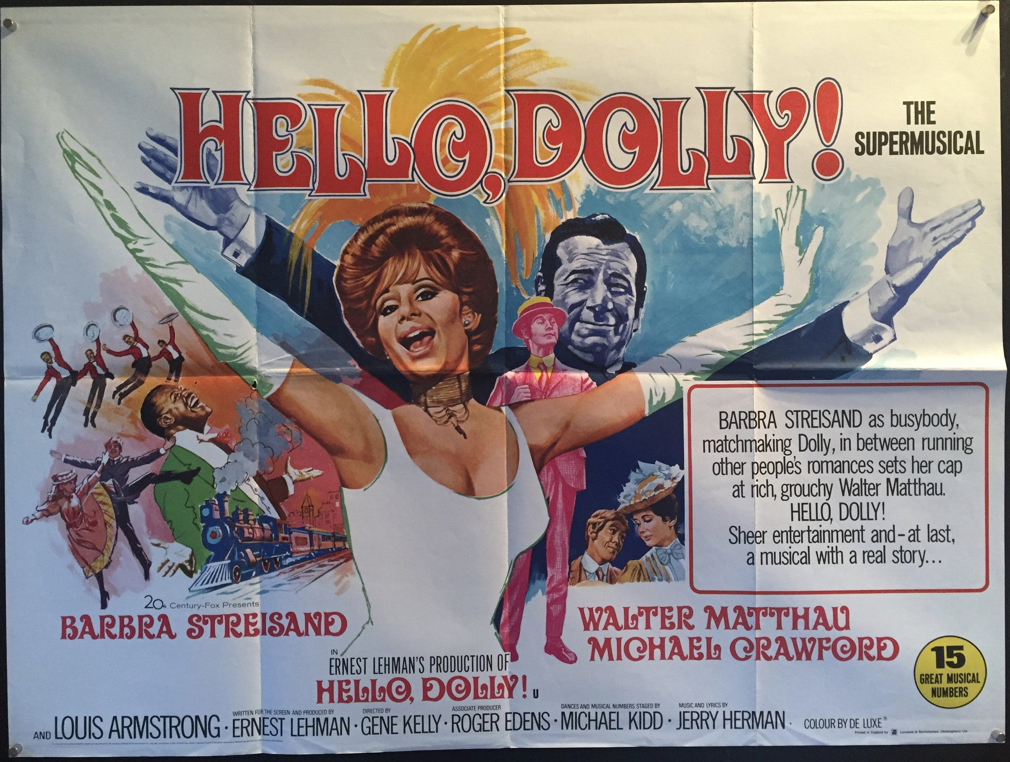Hello Dolly – Vertigo Posters