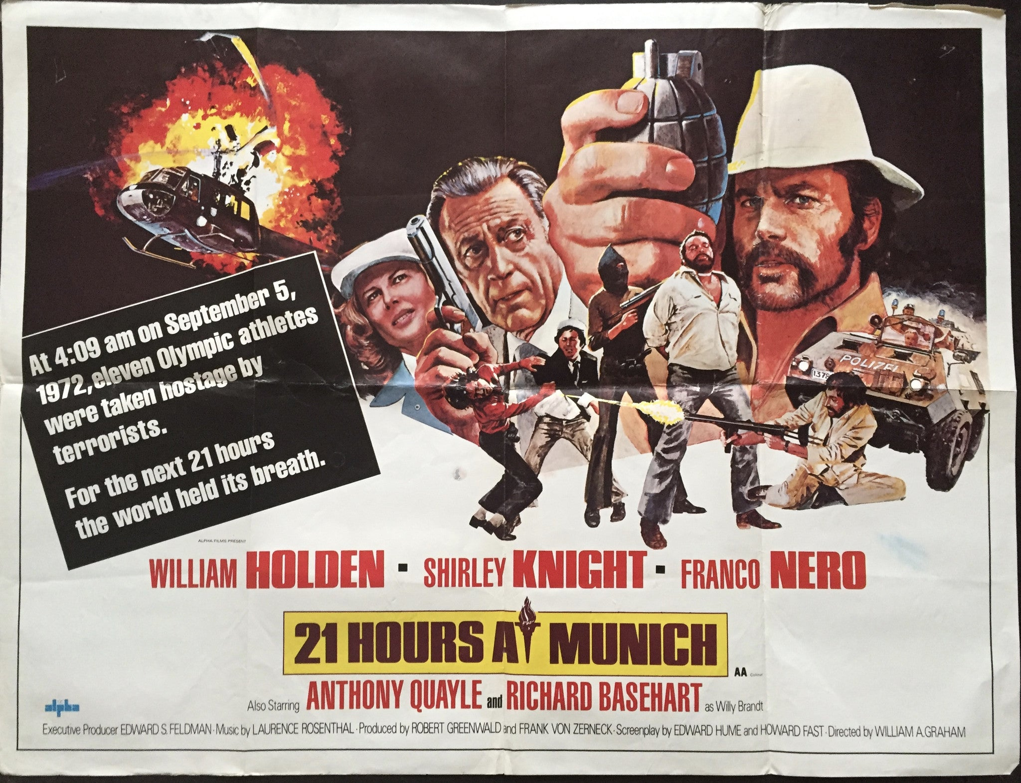 21 Hours at Munich (1976) –  Drama, History, Sport