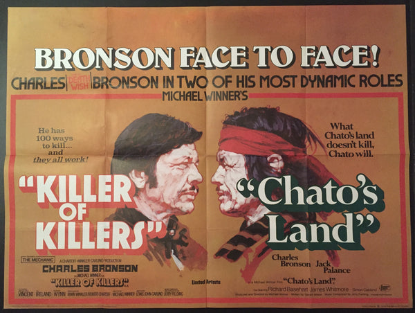 Killer of Killers (The Mechanic) / Chato's Land