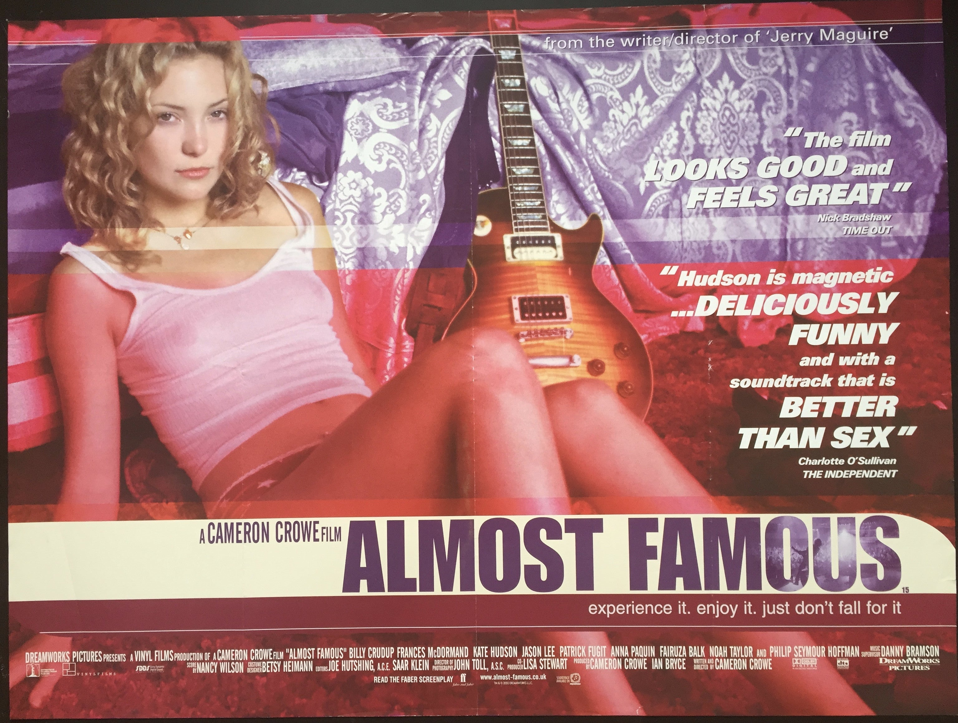 Image result for almost famous film poster