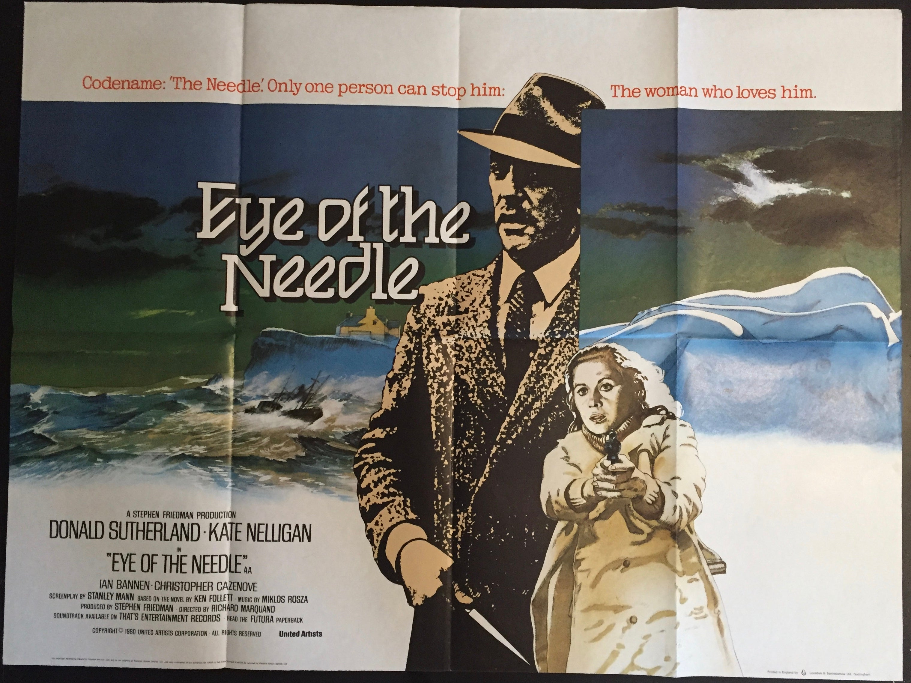 Eye of the Needle – Vertigo Posters