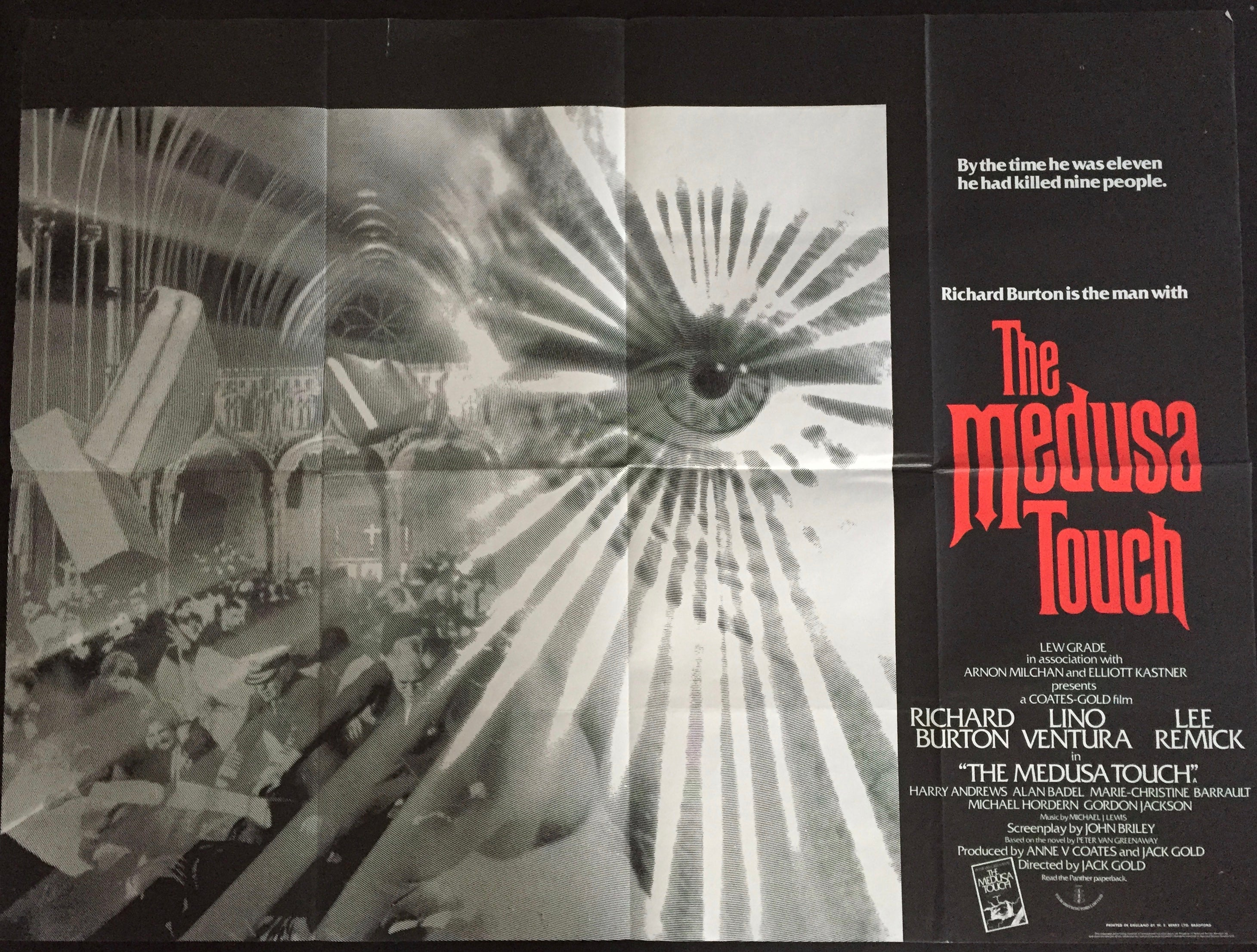 The Medusa Touch – Vertigo Posters