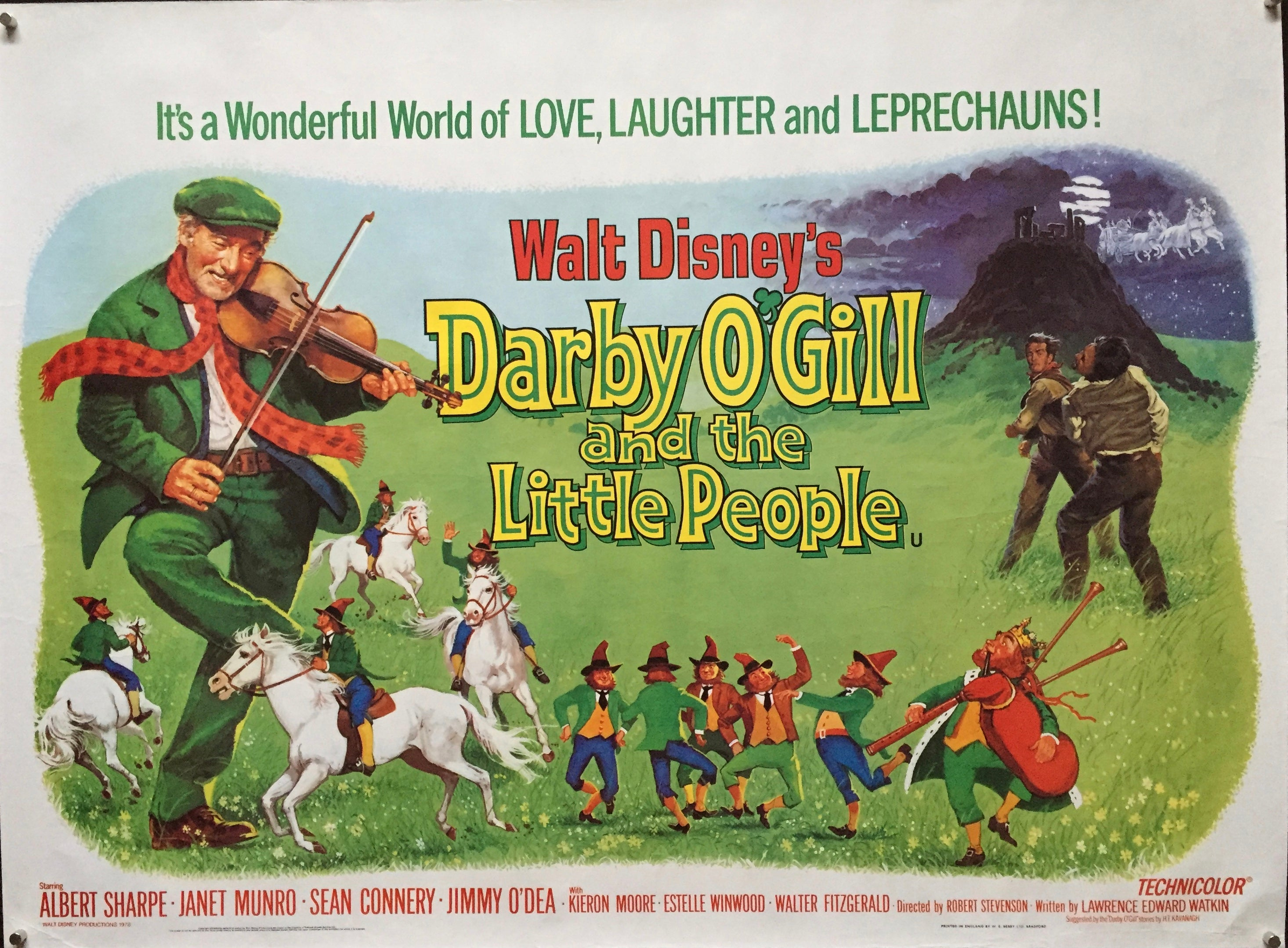 Darby O'Gill and The Little People – Vertigo Posters
