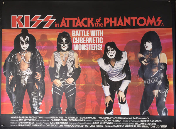 Kiss in Attack of the Phantoms