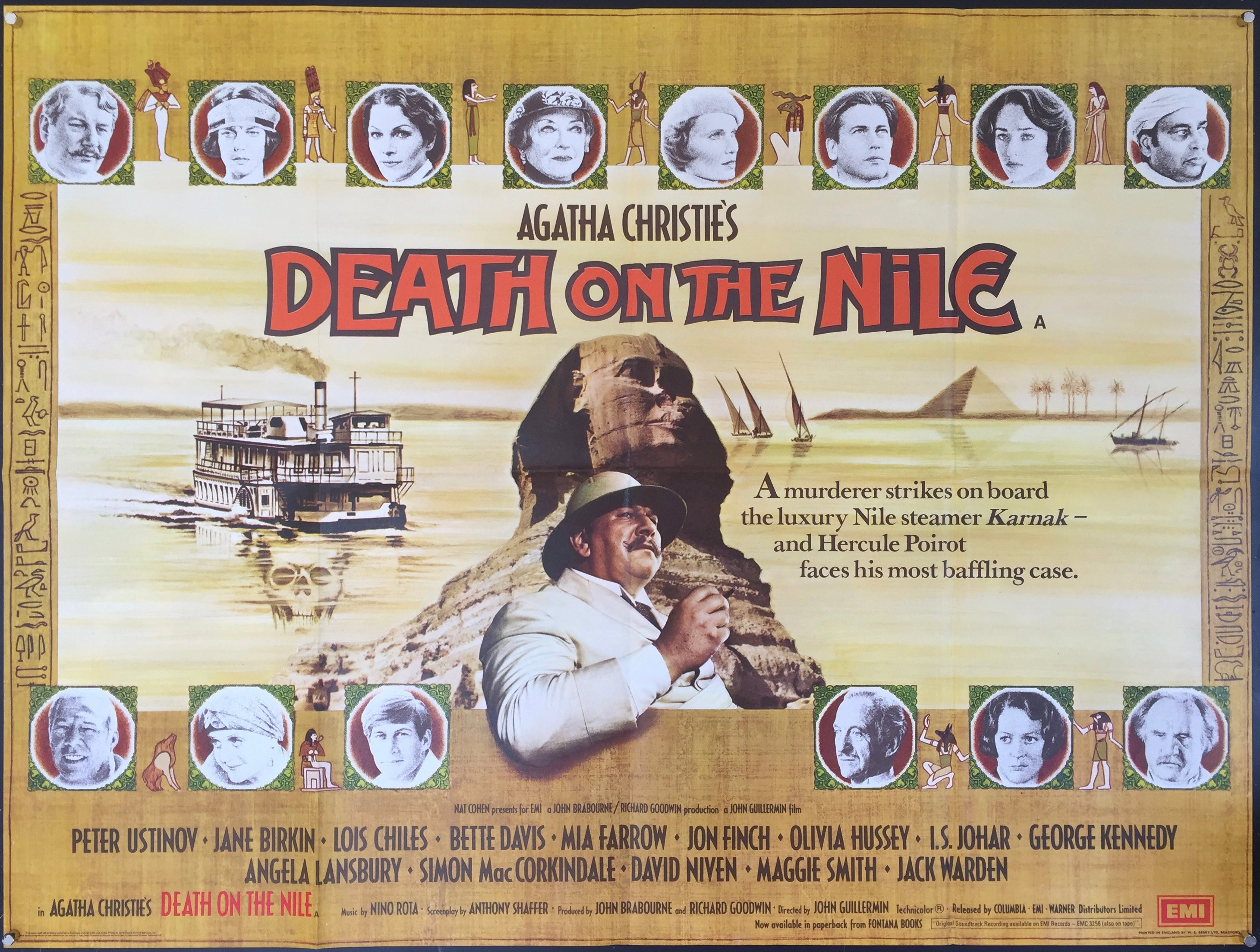 Death on the Nile – Vertigo Posters