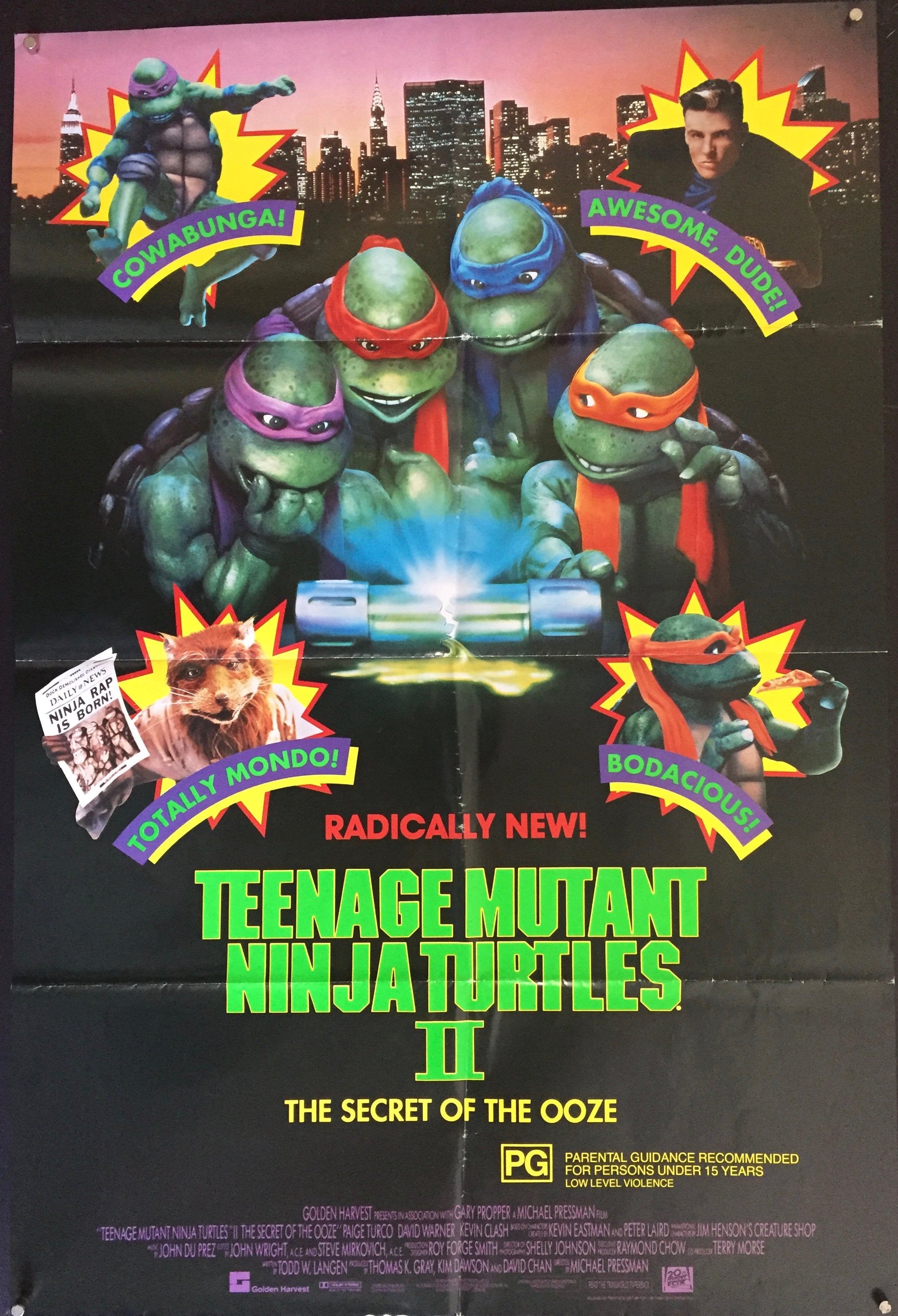 Teenage Mutant Ninja Turtles 2 Vertigo Posters