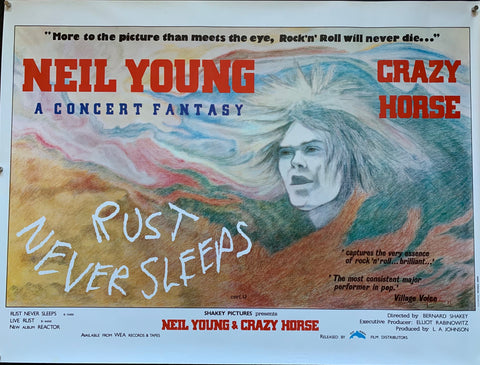 Neil Young : Rust Never Sleeps