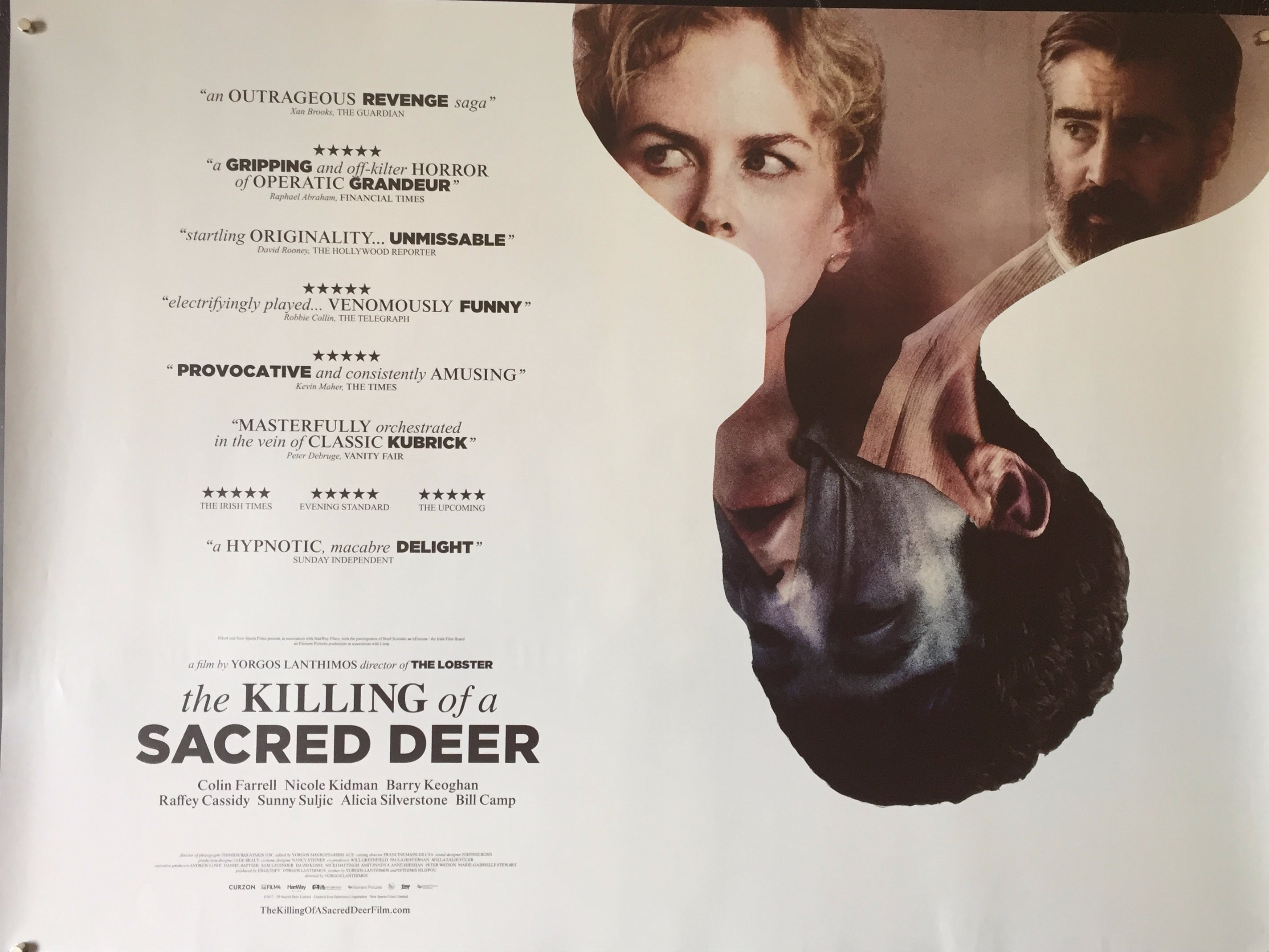 The Killing Of A Sacred Deer Vertigo Posters