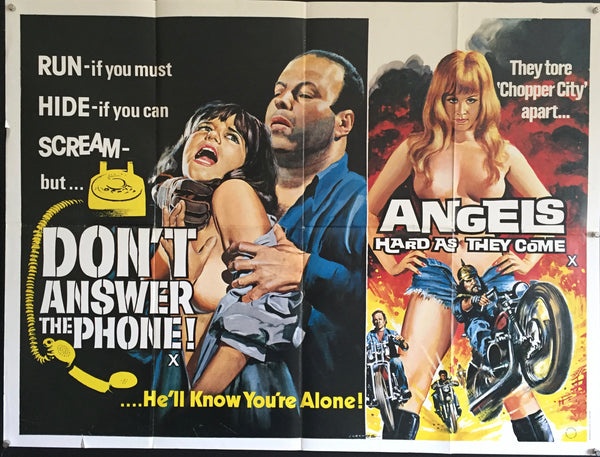 Don't Answer The Phone / Angels Hard As They Come