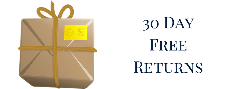 We offer 30 day free returns