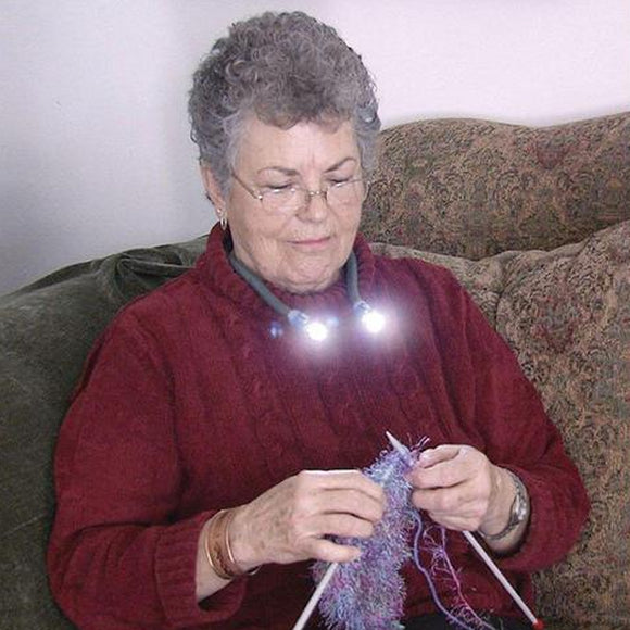 Knitting & Crocheting Led Lamp