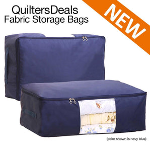 High Capacity Quilt Storage Bags - Multiple Colors & Sizes