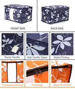 Floral Pattern Quilt Storage Bags